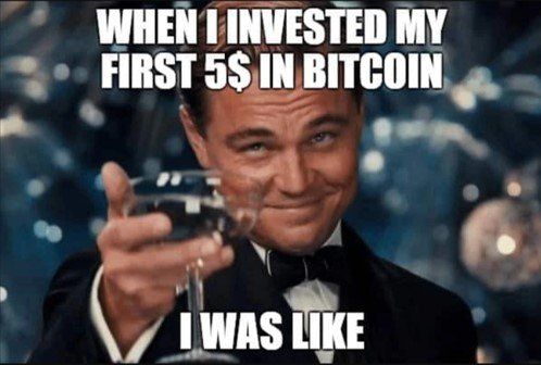 asi me senti cuando inverti en bitcoin - David Millán