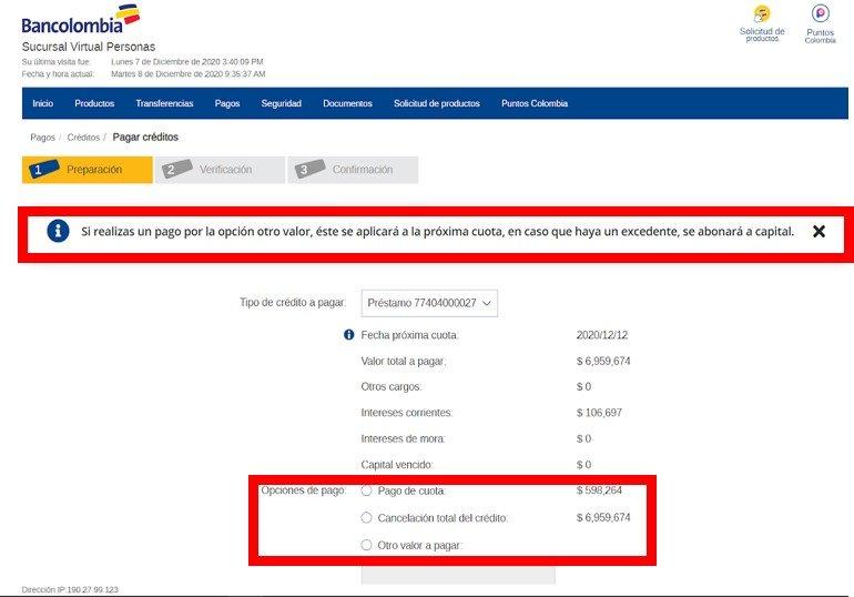 reducir credito bancolombia - David Millán
