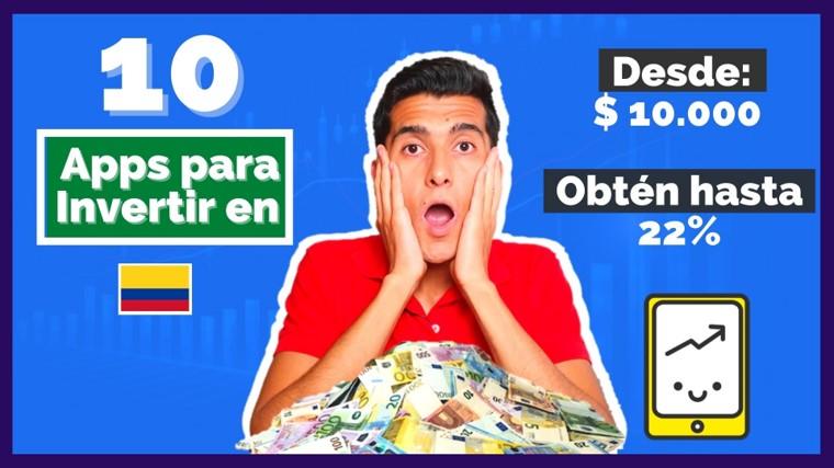 10 Aplicaciones para invertir en Colombia - David Millán