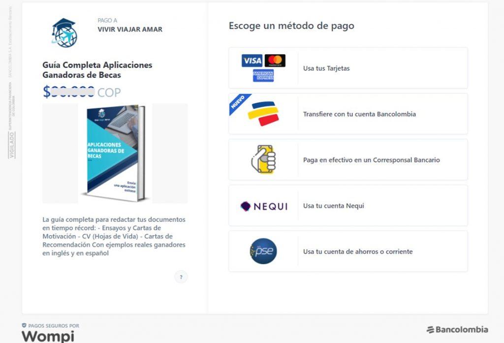 Wompi: pasarela de pago en Colombia